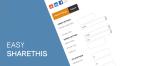 Easy Sharethis - плагин Joomla для управления закладками на социальные сети