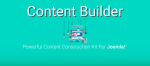 Content Builder - расширение Joomla для пользователей желающих упростить создание контента для сайта