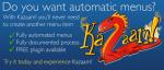 Kazaam! великолепный инструмент для создания меню на Вашем Joomla сайте