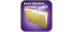 Easy Folder Listing Pro - отличное расширение для отображения контента Ваших Joomla каталогов
