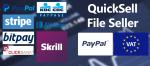 QuickSell File Seller - организуйте интернет магазин Joomla для электронных документов и различных файлов