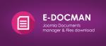 EDocman - управляйте загрузками с Joomla-сайта с помощью мощного инструмента
