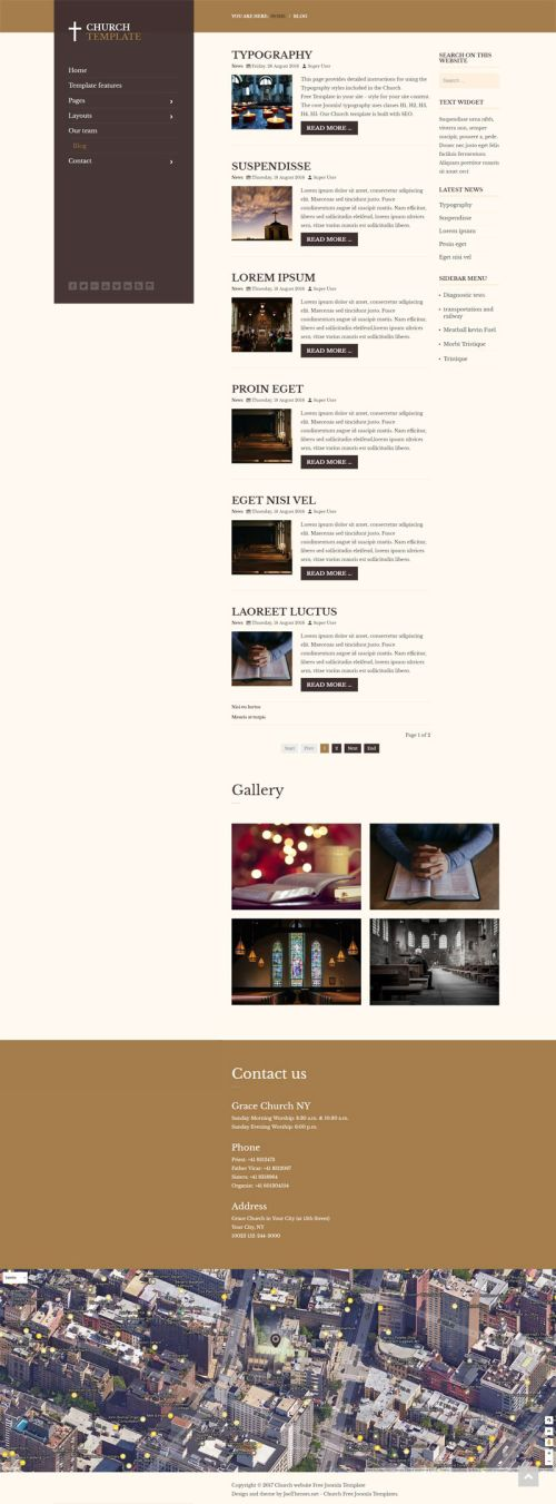 joothemes church template blog 800x