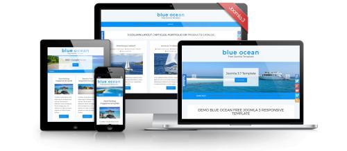 blue ocean main joomla free template
