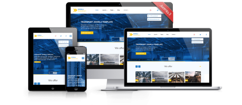 transport main joomla free template