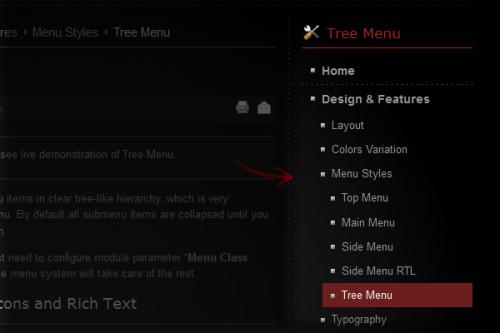 menu-treemenu