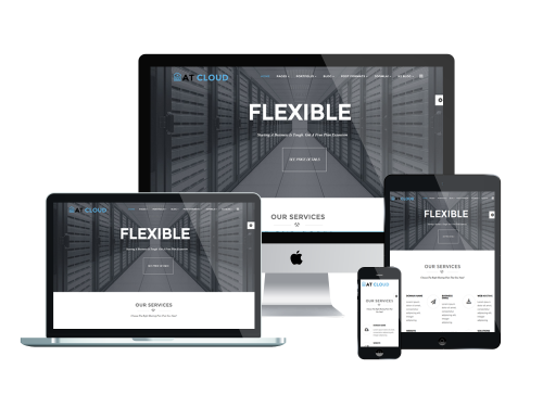 Responsive AT Cloud Joomla template