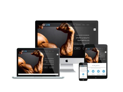 Gym Joomla responsive template