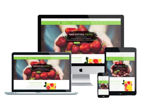 et fruit free responsive joomla template