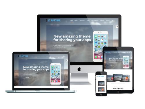 LT Apptune Joomla template responsive