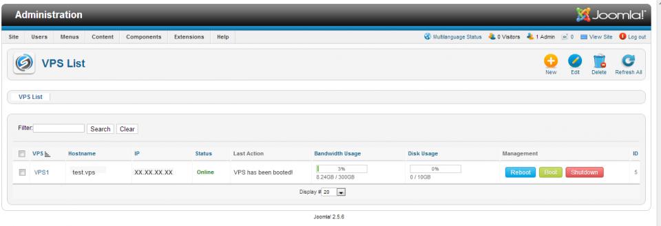 купить сервер домен